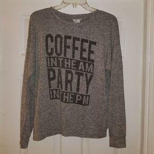 Gray Sadie & Love Sweatshirt Size M